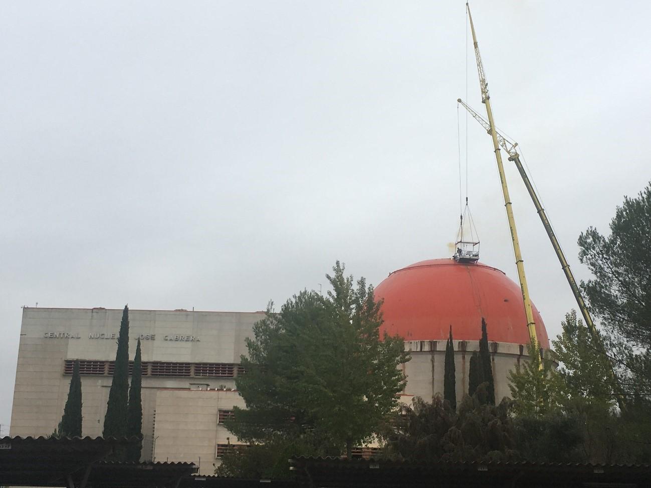 Cúpula Central nuclear José Cabrera Zorita